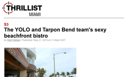 S3—Thrillist Miami Sexy Beachfront Bistro