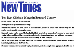 Tarpon—NewTimes.com–Best Chicken Wings