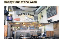 Tarpon—Sun Sentinel Happy Hour Of The Week 08.15.14