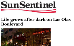 YOLO SunSentinel.com Life After Dark Las Olas 01.03.14