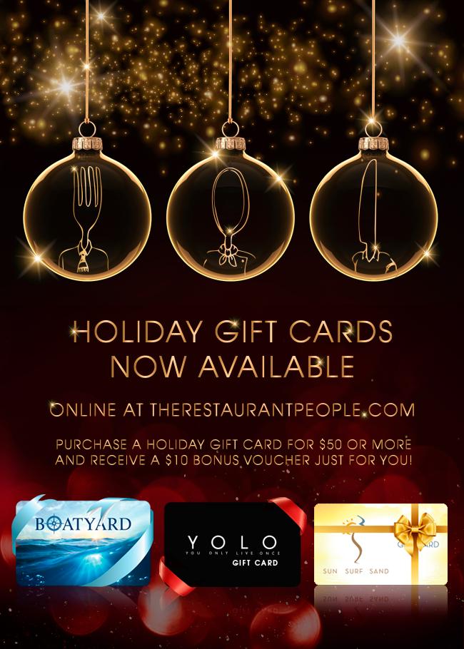 Gift Card eblast