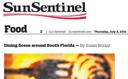 F&B—Sun Sentinel Dining Scene 07.03.14