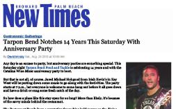 Tarpon – New Times Anniversary