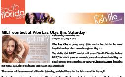 VIBE – SouthFlorida.com MILF Contest