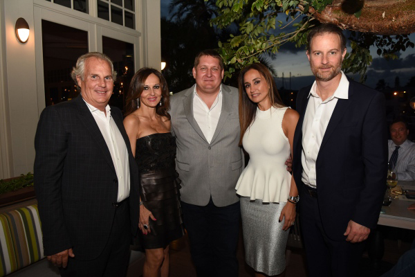 OCEAN DRIVE MAGAZINE AND BOATYARD PRIVATE DINNER HOSTED BY TIM PETRILLO AND PEGGY FUCCI