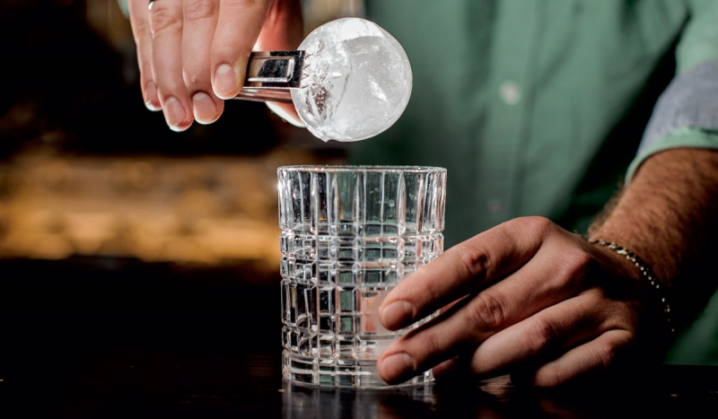 The Artisanal Cocktail Trend Includes Ice, Too